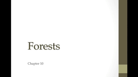 Thumbnail for entry 10C Forests