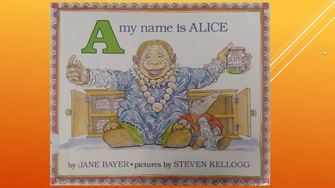 Thumbnail for entry A my name is alice