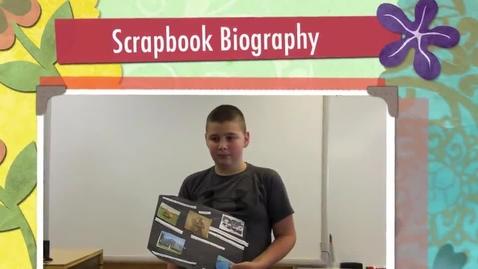 Thumbnail for entry Daniel's Scrapbook Biography