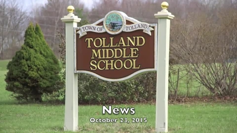 Thumbnail for entry School News 10-23-15