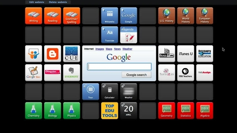 Thumbnail for entry SymbalooEDU Screencast: The Stop Updates Feature