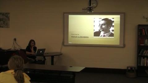Thumbnail for entry Sara N Final Presentation