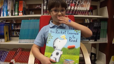 Thumbnail for entry Rocket Learns to Read