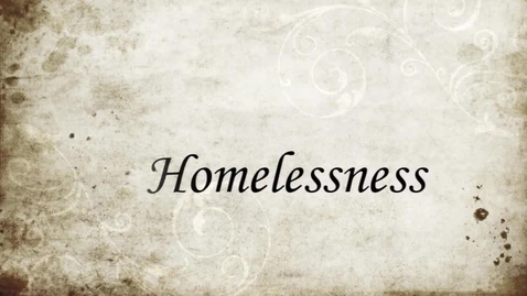 Thumbnail for entry Homelessness Campaign