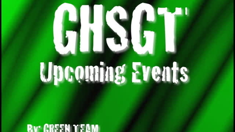Thumbnail for entry edt 14 upcoming events greenteam yjn