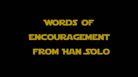 Thumbnail for entry FCAT Star Wars - Han Solo