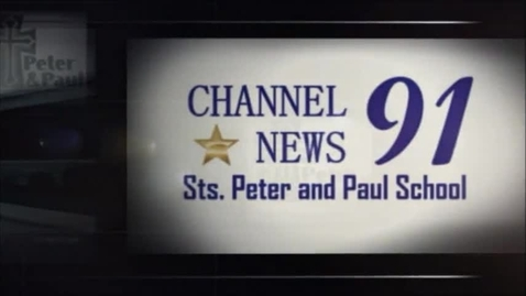Thumbnail for entry 04/21/2015 - Channel 91 News - Sts. Peter and Paul School