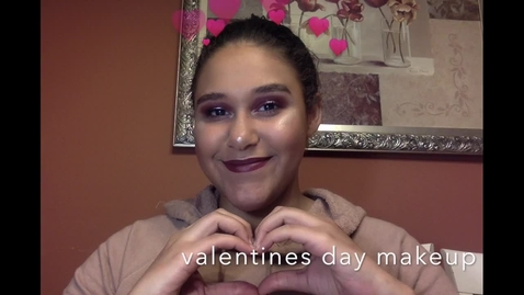 Thumbnail for entry Valentines day makeup tutorial