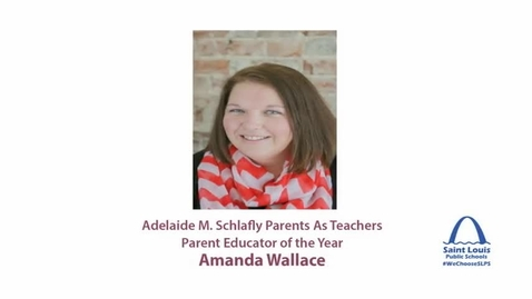 Thumbnail for entry SLPS 2015 Parents As Teachers Parent Educator of the Year