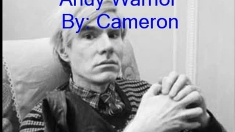 Thumbnail for entry Andy Warhol