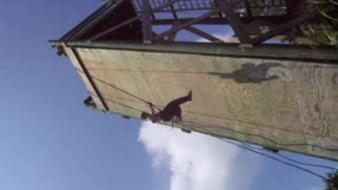 Thumbnail for entry Rappelling