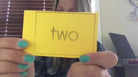 Thumbnail for entry Sight Word Sing Along