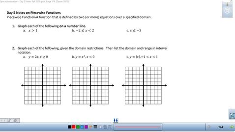 Thumbnail for entry Math 3 Unit 1 Day 5 Notes