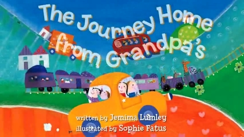 Thumbnail for entry The Journey Home from Grandpa's (Barefoot Books)