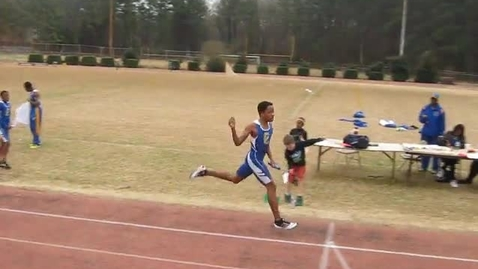 Thumbnail for entry Boys 4x400 Finish
