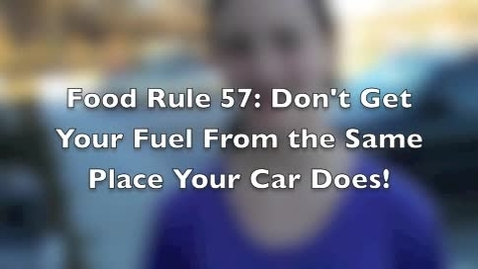 Thumbnail for entry Food Rule 57 FACS
