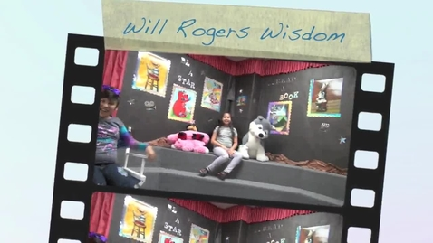 Thumbnail for entry Will Rogers Heroes Presents Will Rogers Wisdom