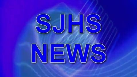 Thumbnail for entry SJHS News 4-5-13