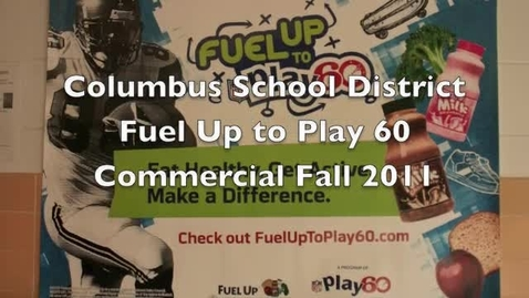Thumbnail for entry fuel up for fall