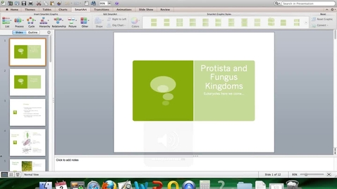 Thumbnail for entry Protists and Fungus