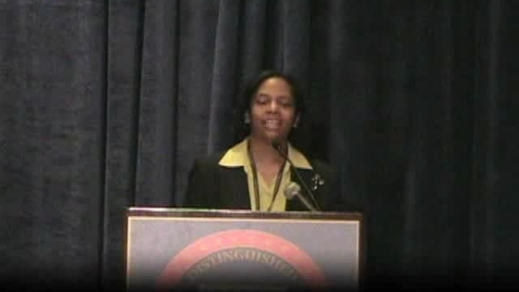 Thumbnail for entry Cheryl Collins of Illinois NDP award speech