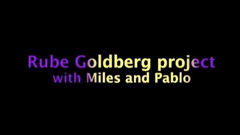 Thumbnail for entry Pablo's Rube Goldberg