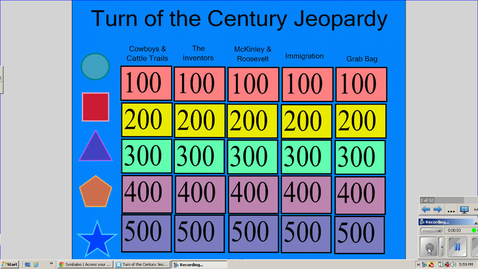 Thumbnail for entry Turn of the Century Jeopardy