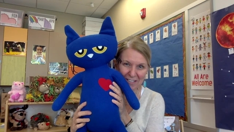 Thumbnail for entry Story Time: Pete the Cat I Love My White Shoes