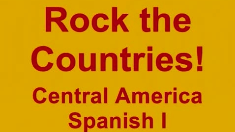 Thumbnail for entry Countries of Central America - Song