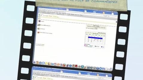 Thumbnail for entry Comment voir la liste de commentaires