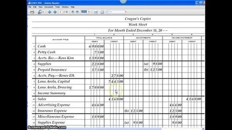 Thumbnail for entry Accounting Adjustments