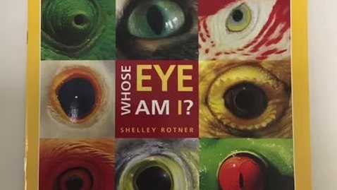 Thumbnail for entry Whose eye am I?