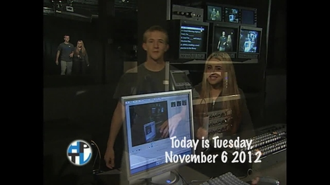 Thumbnail for entry Tuesday, November 6, 2012