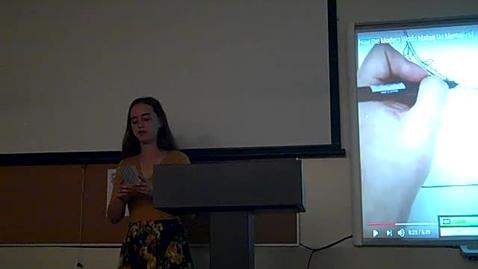 Thumbnail for entry Julia Shields Final Speech