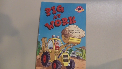 Thumbnail for entry Pig at Work by Jon Buller and Susan Schade