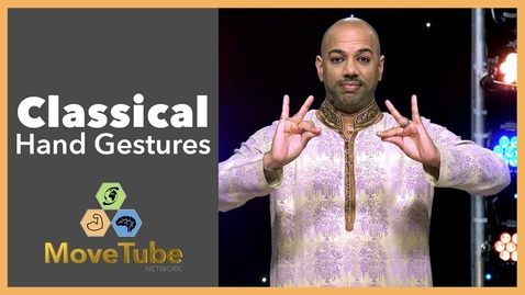 Thumbnail for entry Learn Classical Hand Gestures used in Bollywood Dancing with Nakul Dev Mahajan