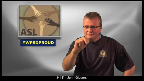 Thumbnail for entry WPSD ASL Instructor, John Gibson, talks about his attendance at the ALSRT Roundtable