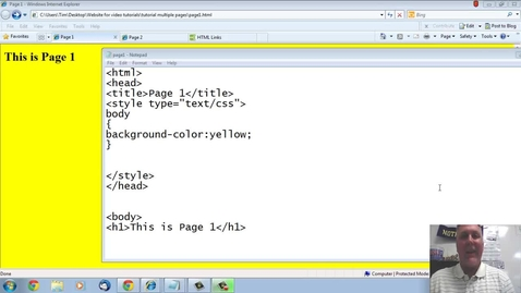 Thumbnail for entry Linking Multiple pages2