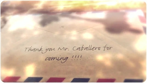 Thumbnail for entry SPUR TV Presents Mr. Caballero Interview