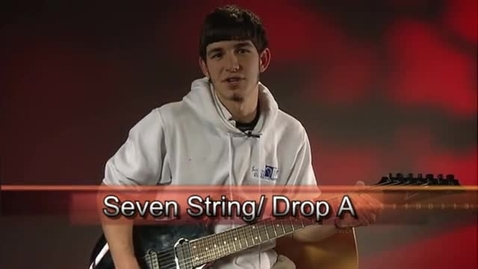 Thumbnail for entry Mason Dauphin - Guitar Lessons: Seven String Guitar/ Drop A Tuning