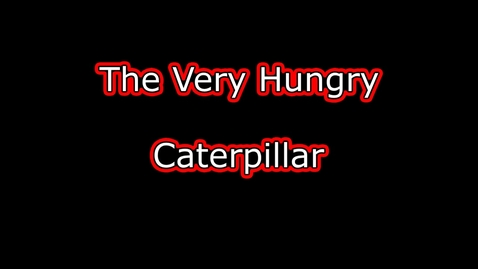 Thumbnail for entry CVI friendly - The Very Hungry Caterpillar