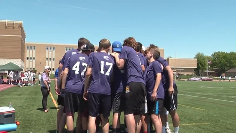 Thumbnail for entry Ultimate Frisbee Final News Package Harrison Wright