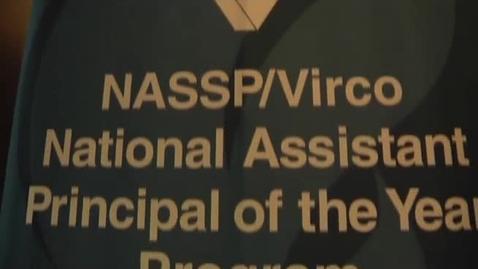 Thumbnail for entry 2011 NASSP/Virco Assistant Principal of the Year: Vaughn Dosko