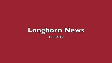 Thumbnail for entry Longhorn News 10-12-10