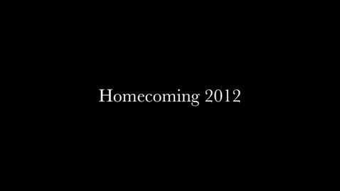 Thumbnail for entry Homecoming Promo