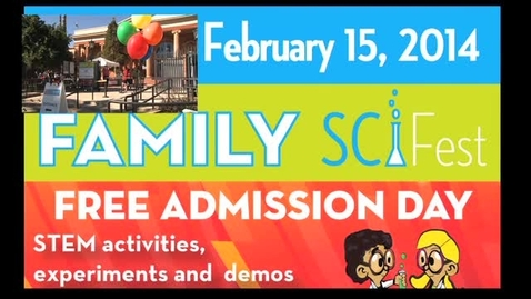 Thumbnail for entry 2014 SciFest at the Tucson Children's Museum