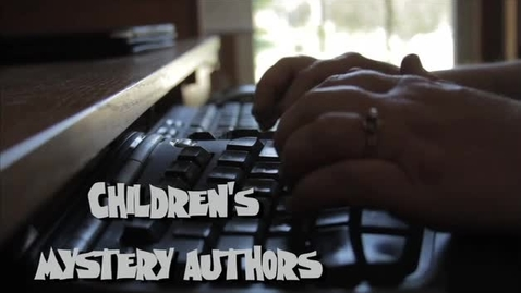 Thumbnail for entry Children's Mystery Writers