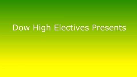 Thumbnail for entry H.H. Dow High  School Journalism Elective Video