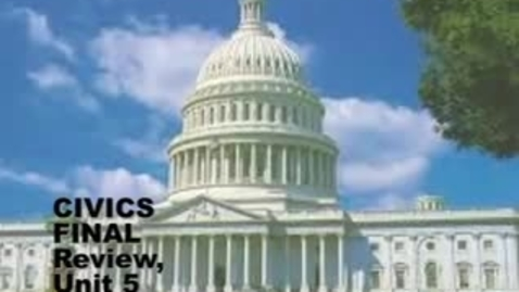 Thumbnail for entry U-46 Civics Final Exam Review 5. Structure of US Government