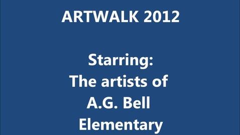 Thumbnail for entry Art Walk 2012 K-3